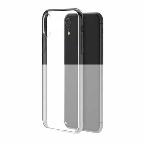 Compare Hyphen Clear Black Frame Case for  iPhone XR  at KSA Price