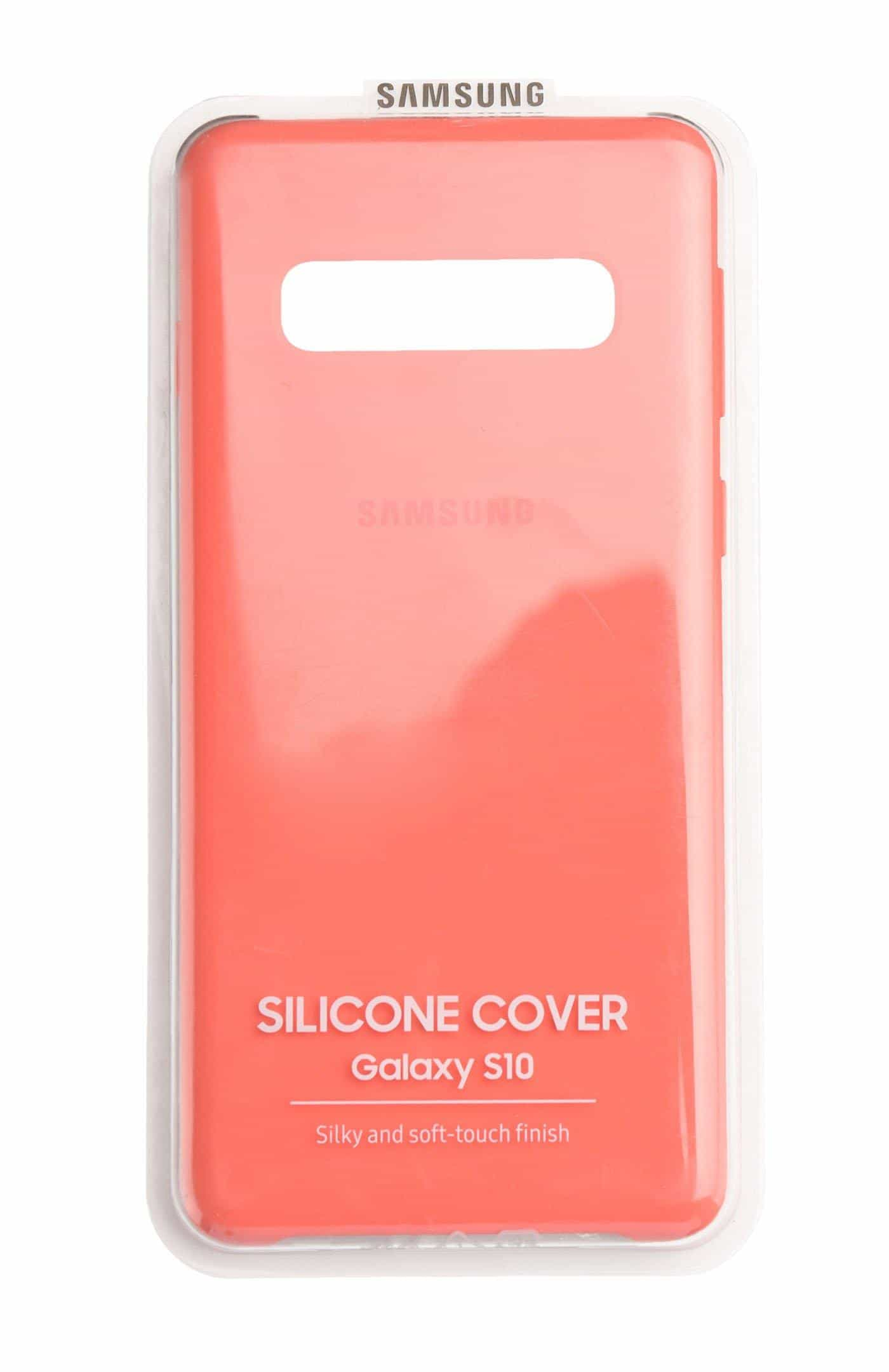 Compare Samsung S10  Beyond 1  Silicone Case, Pink at KSA Price