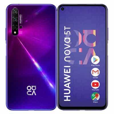 Compare Huawei Nova 5T,  128GB,Purple at KSA Price