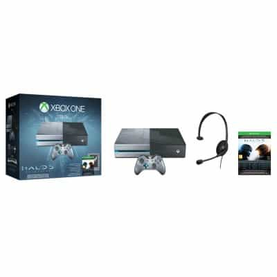 Compare Xbox One  1TB  +  Halo 5  Gardians Game at KSA Price