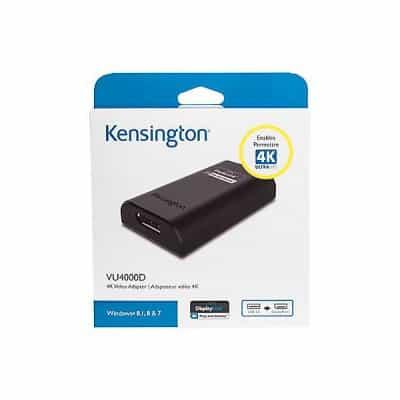 Kensington VU4000 USB 3.0 to HDMI 4K Video…