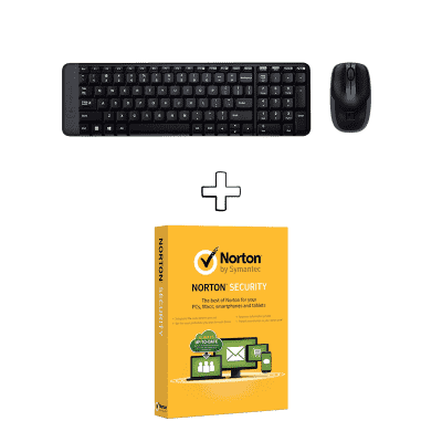 Compare Buy  Logitech MK220 Desktop and  get  Norton Security Free at KSA Price