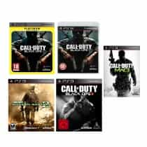 Compare Call of  Duty Collection: Black Ops  1 2;Modern Warfare 1 2;World a.... at KSA Price