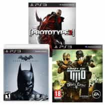 3 Game Bundle: Batman - Arkham Origins;Army…