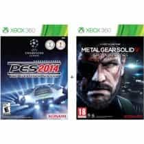 PES (Pro Evoluton Soccer) 2014 + Metal Gear:…