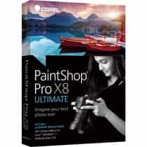 Paintshop Pro X8 Ultimate, English, 1 User