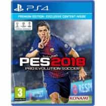 PES (Pro Evolution Soccer) 2018, PlayStation 4…
