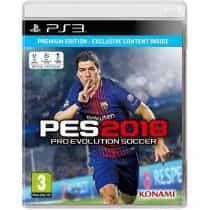 PES (Pro Evolution Soccer) 2018, PlayStation 3…