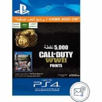 Digital Code, Call of Duty: WWII - 5,000 Points,…