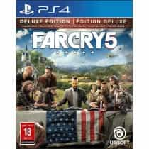Compare Far  Cry  5  Deluxe Edition, PlayStation 4   Games , Action Adventure, Blu ray Disc at KSA Price