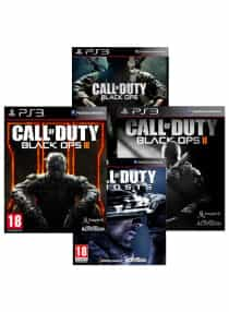 Compare Call Of  Duty Black Ops  Collection +  Call Of  Duty: Ghosts    PlayStation 3   at KSA Price