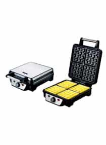 Compare 4 Slice Waffle Maker GWM5417 Silver Black at KSA Price