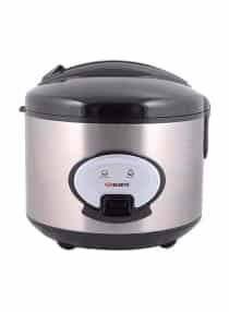 Rice Cooker 1.8L ERC-186SSMKII Black/Silver