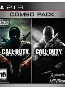 Compare Call Of  Duty Black OPS  Combo Pack    Region 1     PlayStation 3   at KSA Price