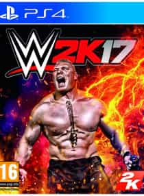 WWE 2K17 - Region 2 - PlayStation 4