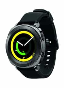 Gear Sport Smartwatch Black
