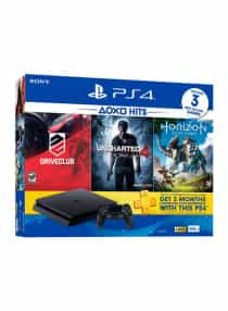 PlayStation 4 500GB With 3 Games (Horizon Zero…