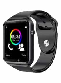 Smartwatch With Camera 350 mAh Black