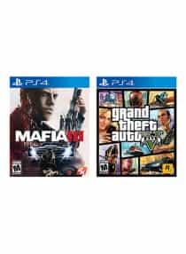 Mafia 3 + Grand Theft Auto V - Playstation…