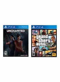 Uncharted: The Lost Legacy + Grand Theft Auto…