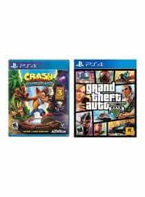 Crash Bandicoot N. Sane Trilogy + Grand Theft…