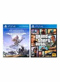 Horizon Zero Dawn + Grand Theft Auto V -…