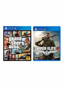 Sniper Elite 4 + Grand Theft Auto V -…