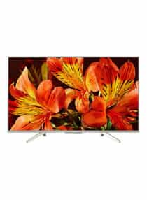 55-Inch 4K HDR Android TV KD-55X8577F/S Silver