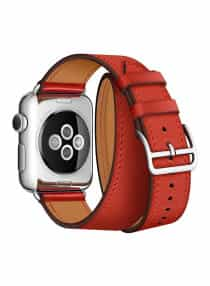 Compare Replacement Band For  Apple Watch 38mm Red   at KSA Price