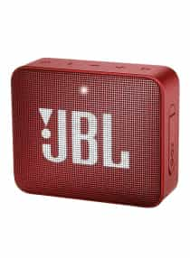 GO 2 Portable Bluetooth Wireless Speaker Red