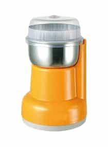 Compare Coffee Grinder 2 007 1 Orange Clear Silver  at KSA Price