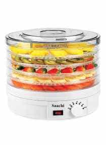 Compare 5 Tray Food Dehydrator 245W NL FD 4935 WH White Clear at KSA Price