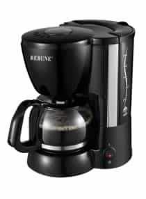 Coffee Maker 650ml RE-6-018 Black/Clear