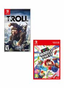 Compare Super Mario Party +  Troll And  I     Nintendo Switch  at KSA Price