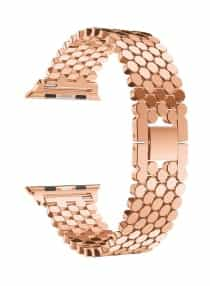 Compare Replacement Band Loop Strap For  Apple Watch Series 4  44mm Rose Gold  at KSA Price