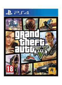 Grand Theft Auto V Five - PlayStation 4