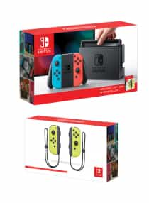 Switch Console With Extra Joy-Con Controller Bundle
