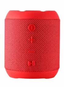 Waterproof Portable Bluetooth Speaker Red