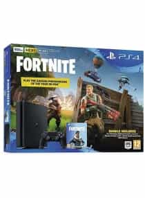 Compare PlayStation 4  500GB With Tnite And  Royal Bomber Pack  at KSA Price