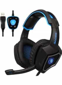 Compare Over Ear Gaming Headset With Microphone  at KSA Price