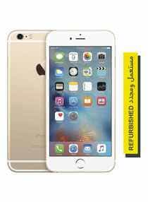 Compare Refurbished    iPhone 6s  With FaceTime Gold 128GB 4G  LTE   at KSA Price