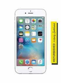 Compare Refurbished    iPhone 6s  With FaceTime Silver 128GB 4G  LTE   at KSA Price