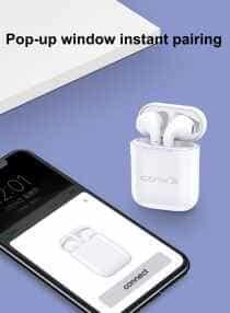 Compare Wireless Earpods In Ear Headphones White 53x43x22 millimeter at KSA Price