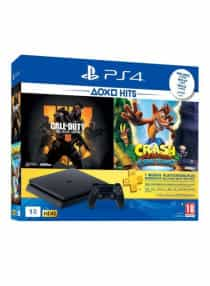 Compare PlayStation 4  1TB  Console With 2  Games  Call Of  Duty Black Ops  4,  Crash Bandicoot N.  Sane Trilogy  +  1  Months PS  Plus Membership  at KSA Price