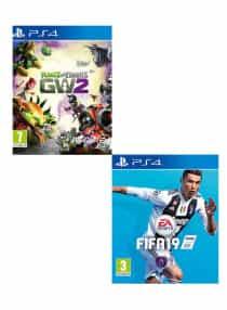 Compare Plants Vs  Zombies: Garden Warfare 2  +  FIFA 19  :  Standard Edition Bundle    PlayStation 4   at KSA Price