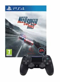 Compare Need for  Speed Rivals Limited Edition +  DualShock 4  Wireless Controller Bundle    PlayStation 4   at KSA Price