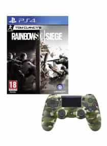 Compare Tom  Clancy s Rainbowsix Siege With DualShock 4  Wireless Controller    PlayStation 4   PS4   at KSA Price