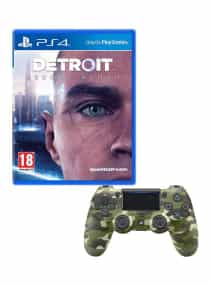 Compare Detroit Become Human  With Controller  at KSA Price