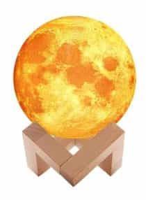 Compare 3D  Moon Lamp Air  Humidifier 880ml DQ188901 Yellow Brown  at KSA Price