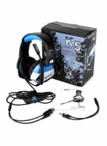 Compare Wired Over Ear Gaming Headset  at KSA Price